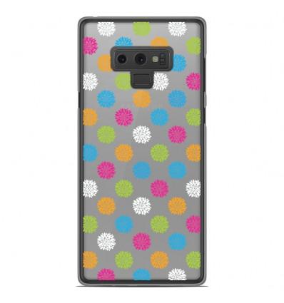 Coque en silicone Samsung Galaxy Note 9 - Floral