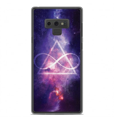 Coque en silicone Samsung Galaxy Note 9 - Infinite Triangle