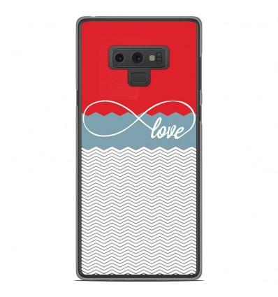 Coque en silicone Samsung Galaxy Note 9 - Love Rouge