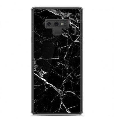 Coque en silicone Samsung Galaxy Note 9 - Marbre Noir