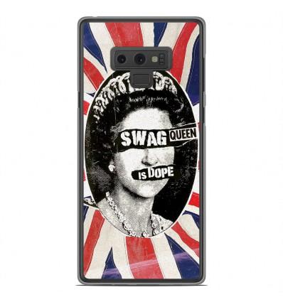 Coque en silicone Samsung Galaxy Note 9 - Swag Queen