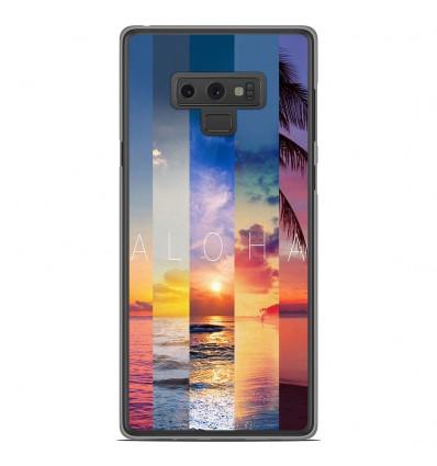 Coque en silicone Samsung Galaxy Note 9 - Aloha