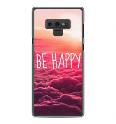 Coque en silicone Samsung Galaxy Note 9 - Be Happy nuage