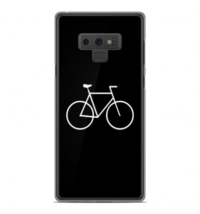 Coque en silicone Samsung Galaxy Note 9 - Bike Hipster