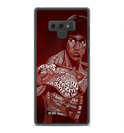 Coque en silicone Samsung Galaxy Note 9 - Bruce lee
