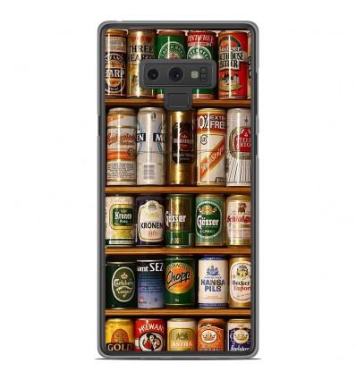 Coque en silicone Samsung Galaxy Note 9 - Canettes