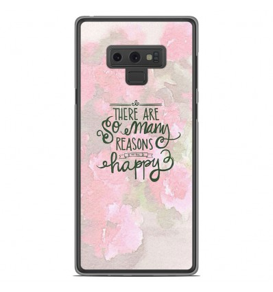 Coque en silicone Samsung Galaxy Note 9 - Citation 02