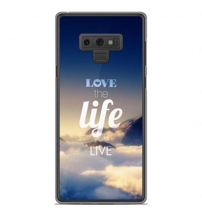 Coque en silicone Samsung Galaxy Note 9 - Citation 06
