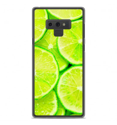 Coque en silicone Samsung Galaxy Note 9 - Citron