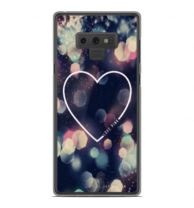 Coque en silicone Samsung Galaxy Note 9 - Coeur Love