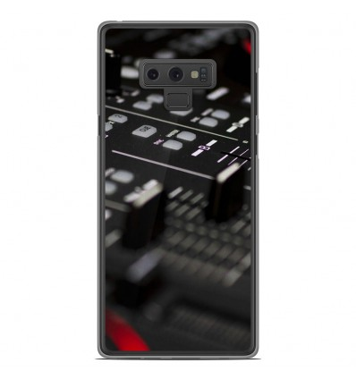Coque en silicone Samsung Galaxy Note 9 - Dj Mixer