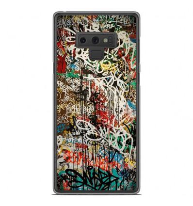 Coque en silicone Samsung Galaxy Note 9 - Graffiti 1