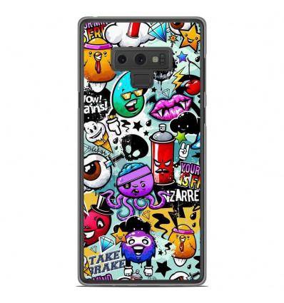 Coque en silicone Samsung Galaxy Note 9 - Graffiti 2