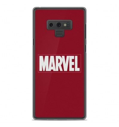 Coque en silicone Samsung Galaxy Note 9 - Marvel
