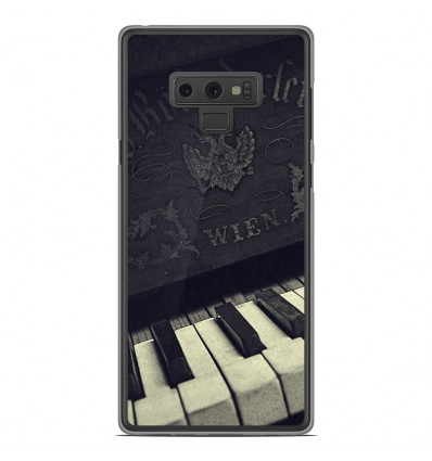 Coque en silicone Samsung Galaxy Note 9 - Old piano