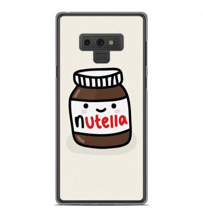 Coque en silicone Samsung Galaxy Note 9 - Pate à tartiner