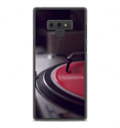 Coque en silicone Samsung Galaxy Note 9 - Platine