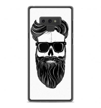 Coque en silicone Samsung Galaxy Note 9 - Skull Hipster