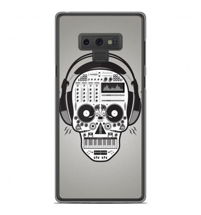 Coque en silicone Samsung Galaxy Note 9 - Skull Music