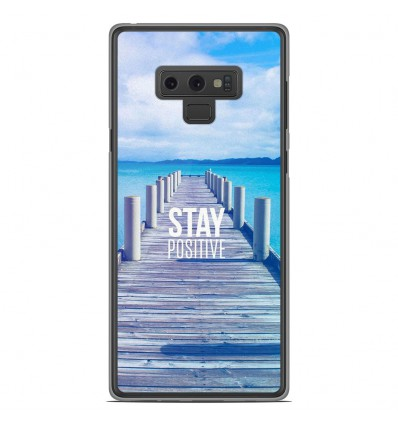 Coque en silicone Samsung Galaxy Note 9 - Stay positive
