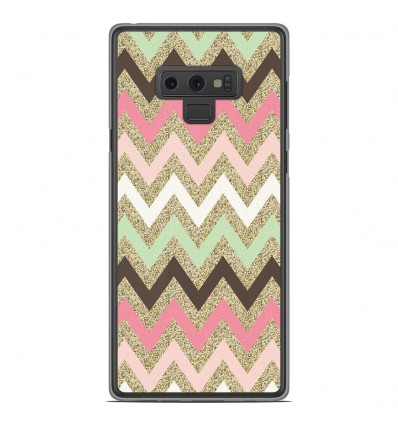 Coque en silicone Samsung Galaxy Note 9 - Texture rose
