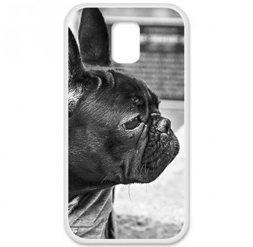Coque en silicone Samsung Galaxy S5 - Bulldog