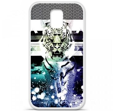 Coque en silicone Samsung Galaxy S5 - Tigre swag