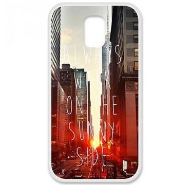 Coque en silicone pour Samsung Galaxy S5 - Sunny side