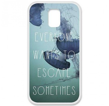 Coque en silicone Samsung Galaxy S5 - Escape