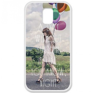 Coque en silicone Samsung Galaxy S5 - Woman