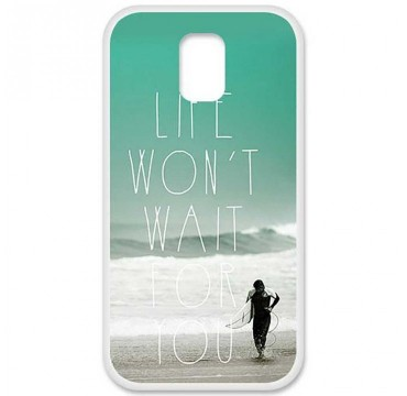 Coque en silicone pour Samsung Galaxy S5 - Surfer