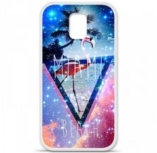 Coque en silicone Samsung Galaxy S5 - Miami beach