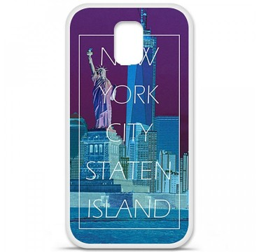 Coque en silicone Samsung Galaxy S5 - New york