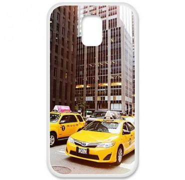 Coque en silicone Samsung Galaxy S5 - NY Taxi