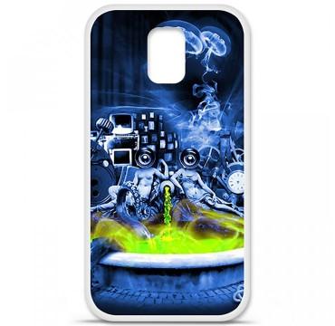 Coque en silicone Samsung Galaxy S5 - Fontaine