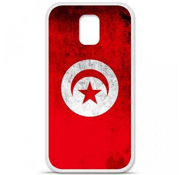 Coque en silicone Samsung Galaxy S5 - Drapeau Tunisie