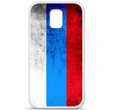 Coque en silicone Samsung Galaxy S5 - Drapeau Russie