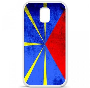 Coque en silicone Samsung Galaxy S5 - Drapeau La Réunion