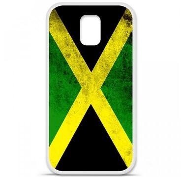 Coque en silicone pour Samsung Galaxy S5 - Drapeau Jamaïque