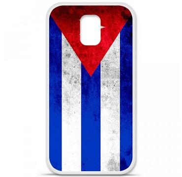 Coque en silicone pour Samsung Galaxy S5 - Drapeau Cuba