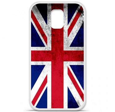 Coque en silicone pour Samsung Galaxy S5 - Drapeau Angleterre