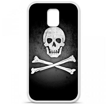Coque en silicone pour Samsung Galaxy S5 - Drapeau Pirate