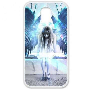 Coque en silicone Samsung Galaxy S5 - Angel