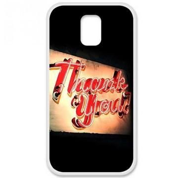 Coque en silicone pour Samsung Galaxy S5 - Thank You