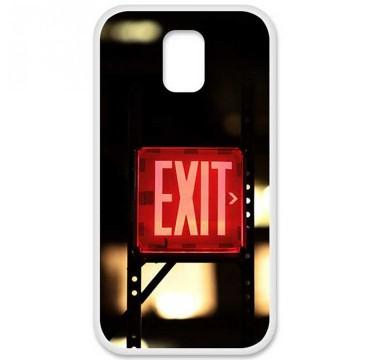 Coque en silicone Samsung Galaxy S5 - Exit