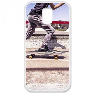 Coque en silicone pour Samsung Galaxy S5 - Skate
