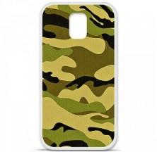 Coque en silicone Samsung Galaxy S5 - Camouflage
