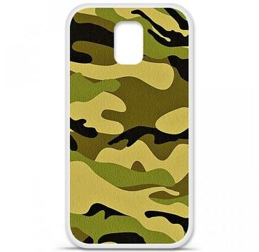 Coque en silicone pour Samsung Galaxy S5 - Camouflage