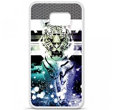 Coque en silicone Samsung Galaxy S6 - Tigre swag