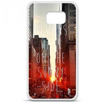 Coque en silicone Samsung Galaxy S6 - Sunny side